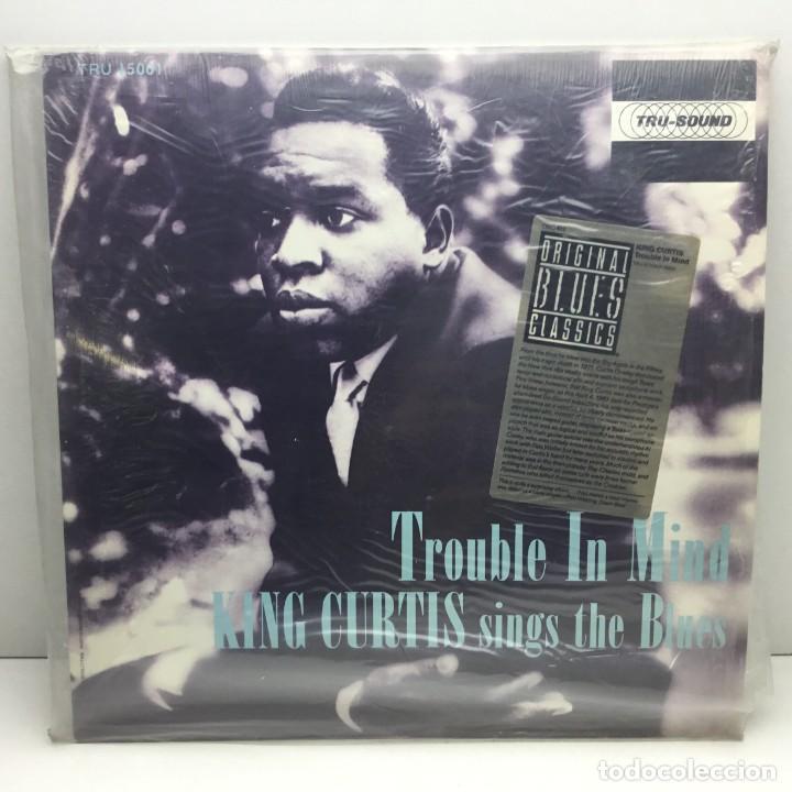 LP - DISCO - VINILO - KING CURTIS SINGS THE BLUES - TROUBLE IN MIND - TUR-SOUND (Música - Discos - LP Vinilo - Funk, Soul y Black Music)