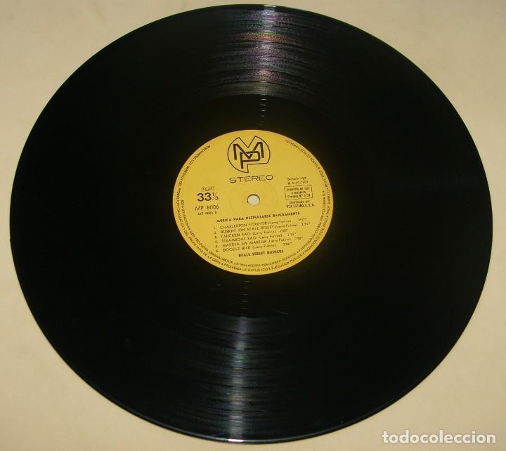 Discos de vinilo: BEALE STREET BUSKERS - MUSICA PARA DESPERTARSE - MP 1968 - Foto 4 - 206399797