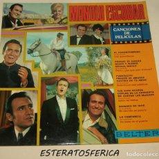 Disques de vinyle: MANOLO ESCOBAR - CANCIONES DE PELICULAS - BELTER 1970 - RESERVADO. Lote 206400136