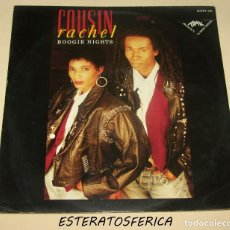 Discos de vinilo: COUSIN RACHEL - BOOGIE NIGHTS - 1988 THE SUPREME RECORD. Lote 206400256