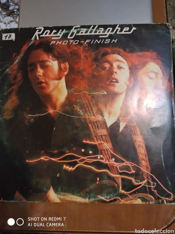 RORY GALLAGHER. PHOTO-FINISH. LP. CONTIENE ENCARTE. (Música - Discos - LP Vinilo - Rock & Roll)