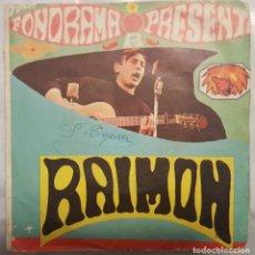 Discos de vinilo: SINGLE / FONORAMA PRESENTA A RAIMON / SI UN DIA VOLS - AHIR (DIGUEM NO) / EDIGSA 1963 PROMO. Lote 206402076