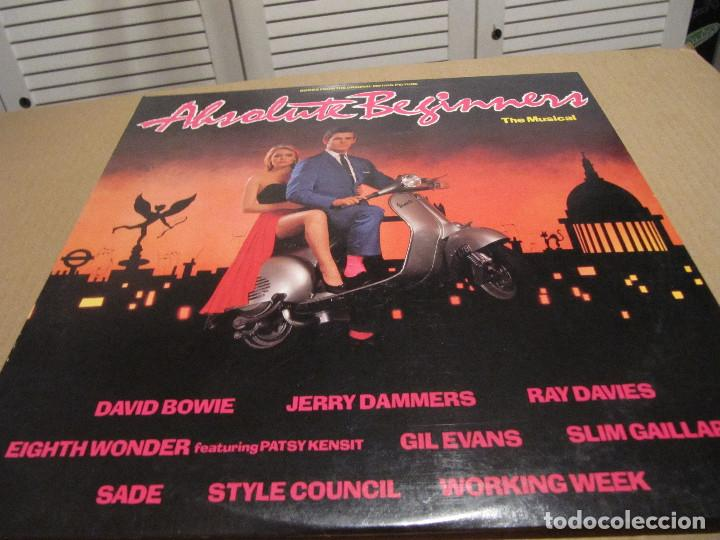 ABSOLUTE BEGINNERS (ORIGINAL SOUNDTRACK) (Música - Discos - LP Vinilo - Bandas Sonoras y Música de Actores )