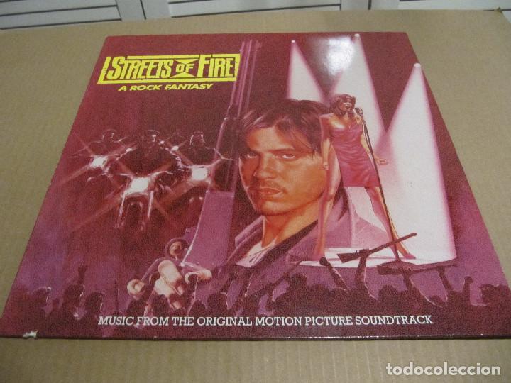 STREETS OF FIRE ( FIRE INC - MARILYN MARTIN - THE FIXX - THE BLASTERS - ... ) 1984-GERMANY (Música - Discos - LP Vinilo - Bandas Sonoras y Música de Actores )