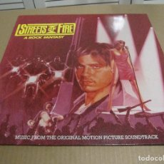 Discos de vinilo: STREETS OF FIRE ( FIRE INC - MARILYN MARTIN - THE FIXX - THE BLASTERS - ... ) 1984-GERMANY. Lote 206409020