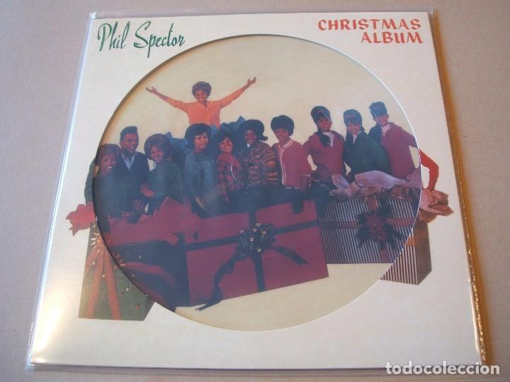 Discos de vinilo: PHIL SPECTOR * LP HQ PICTURE DISC * A Christmas Gift for You * RONETTES ...* LTD FOTODISCO NUEVO!! - Foto 4 - 206409858