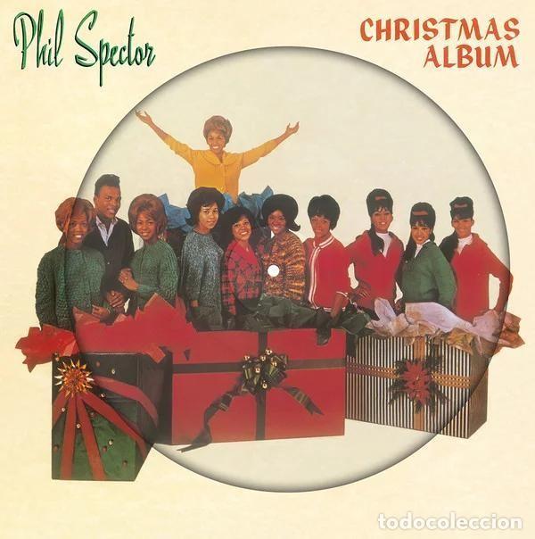 PHIL SPECTOR * LP HQ PICTURE DISC * A CHRISTMAS GIFT FOR YOU * RONETTES ...* LTD FOTODISCO NUEVO!! (Música - Discos - LP Vinilo - Funk, Soul y Black Music)