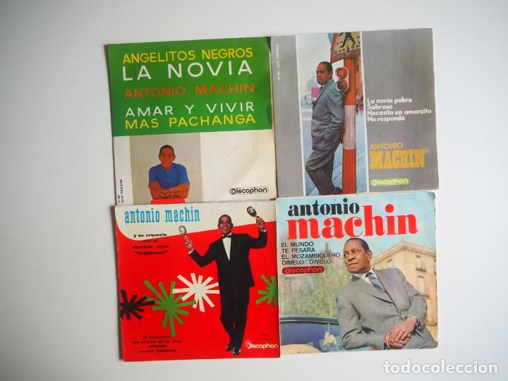LOTE EPS ANTONIO MACHÍN DISCOPHON (Música - Discos de Vinilo - EPs - Solistas Españoles de los 50 y 60)