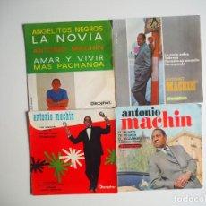 Discos de vinilo: LOTE EPS ANTONIO MACHÍN DISCOPHON. Lote 206412553