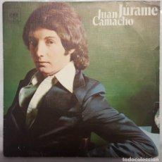 Discos de vinilo: SINGLE / JUAN CAMACHO / JÚRAME - PERDÓN PERDÓN / CBS 1976. Lote 206413723