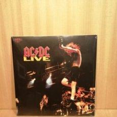 Discos de vinilo: AC/DC. LIVE. 2 X LP'S. PRECINTADO, SIN ESTRENAR.. Lote 206414101
