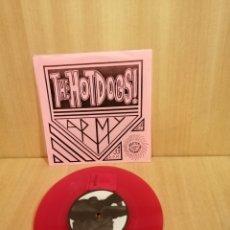Discos de vinilo: THE HOT DOGS. ARMY E.P. 33 RPM.. Lote 206414857