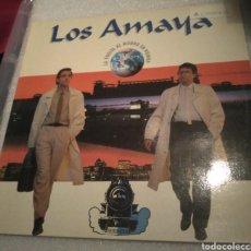 Discos de vinilo: LOS AMAYA - LA VUELTA AL MUNDO EN RUMBA. Lote 206417307