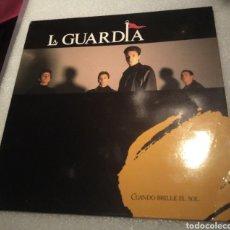 Discos de vinilo: LA GUARDIA - CUANDO BRILLE EL SOL. Lote 206417395