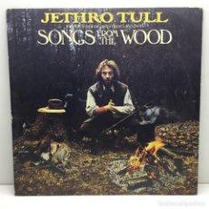 Discos de vinilo: LP - DISCO - VINILO - JETHRO TULL - SONGS FROM THE WOOD - AÑO 1977. Lote 206425608