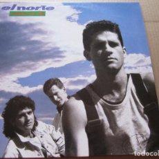 Discos de vinilo: EL NORTE - EL MUNDO ESTA LOCO . LP 1990. Lote 206425655