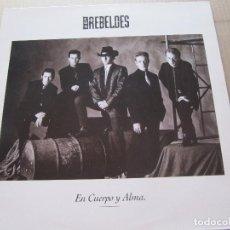 Discos de vinilo: LOS REBELDES -EN CUERPO Y ALMA -MADRID. Lote 206426408