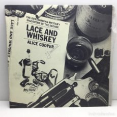 Discos de vinilo: LP - DISCO - VINILO - ALICE COOPER - LACE AND WHISKEY - WARNER BROS RECORDS - AÑO 1977. Lote 206426797