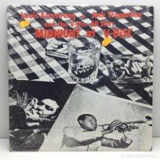 Discos de vinilo: LP - DISCO - VINILO - LOUIS ARMSTRONG - MIDNIGHT AT V-DISC - JACK TEAGARDEN - CON PLÁSTICO ORIGINAL. Lote 206427316