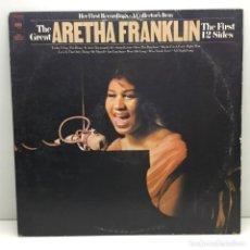 Discos de vinilo: LP - DISCO - VINILO - THE GREAT ARETHA FRANKLIN - A COLLECTORS ITEM. Lote 206427848