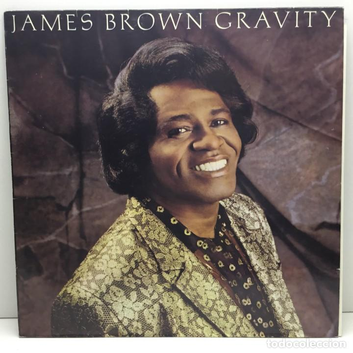 LP - DISCO - VINILO - JAMES BROWN - GRAVITY - AÑO 1986 (Música - Discos - LP Vinilo - Funk, Soul y Black Music)
