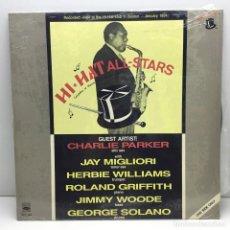 Discos de vinilo: LP - DISCO - VINILO - CHARLIE PARKER - HI-HAT ALL STARS - AÑO 1988. Lote 206428426