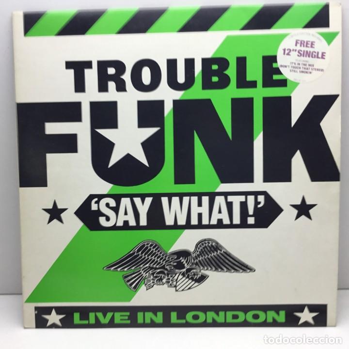 DOBLE LP - DISCOS - 2 VINILOS - TROUBLE FUNK - IT IS IN THE MIX - AÑO 1986 (Música - Discos - LP Vinilo - Funk, Soul y Black Music)