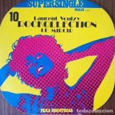 Discos de vinilo: LAURENT VOULZY - ROCKOLLECTION - MAXI SINGLE SE 12 PULGADAS. Lote 206428893
