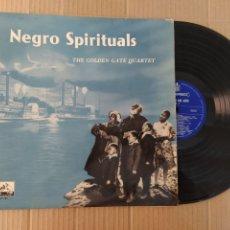 Discos de vinilo: RML REF:R400R DISCO VINILO GRANDE - NEGRO SPIRITUALS - THE GOLDEN GATE QUARTER. Lote 206429037