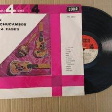 Discos de vinilo: RML REF:R400R DISCO VINILO GRANDE - LOS MACHUCAS EN 4 FASES. Lote 206429366