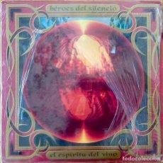 Discos de vinilo: HEROES DEL SILENCIO : EL ESPIRITU DEL VINO [ESP 1993] LPX2. Lote 206429493
