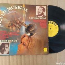 Discos de vinilo: RML REF:R400R DISCO VINILO GRANDE - DUELO MUSICAL PEREZ PRADO/XAVIER CUGAT. Lote 206429775