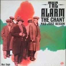 Discos de vinilo: THE ALARM - THE CHANT HAS JUST BEGUN - MAXI SINGLE SE 12 PULGADAS EDICION ESPAÑOLA. Lote 206430416
