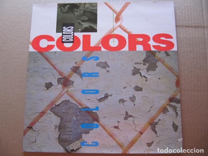 COLORS-ORIGINAL MOTION PICTURE SOUNDTRACK (Música - Discos - LP Vinilo - Bandas Sonoras y Música de Actores )