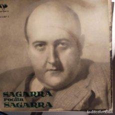 Discos de vinilo: SAGARRA RECITA SAGARRA VERGARA POESIA CATALANA VOL. 1 RECITATS PER L'AUTOR 1962. Lote 206433036