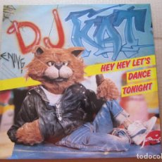 Discos de vinilo: HEY HEY LET'S DANCE TONIGHT. Lote 206433215