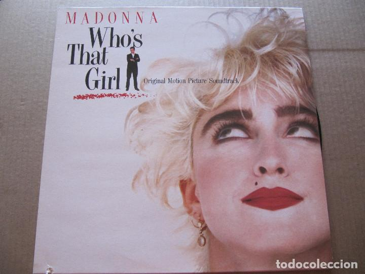 MADONNA.- WHO'S THAT GIRL- ORIGINAL MOTION PICTURE (Música - Discos - LP Vinilo - Bandas Sonoras y Música de Actores )