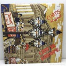 Discos de vinilo: DOBLE LP - DISCOS - VINILOS - CURTIS MAYFIELD - LIVE IN EUROPE - CURTOM ESPAÑA - AÑO 1988. Lote 206433661