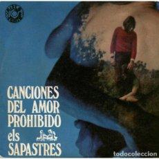 Discos de vinilo: ELS SAPASTRES: CANCIONES DEL AMOR PROHIBIDO: MARIA DEL SOL BARLOVENTO JORDI BATISTE. Lote 206434633