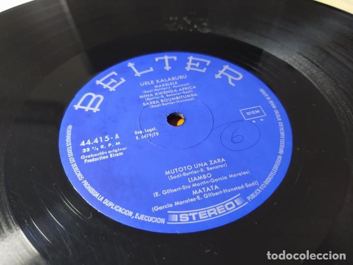 LP - UELE KALABUBU – AFROGROUND - 44.415 ( VG +/ GENERICO) SPAIN ( MIRAR LA OTRA CARA DEL VINILO ) (Música - Discos - LP Vinilo - Funk, Soul y Black Music)