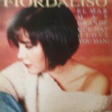 Discos de vinilo: FIORDALISO SINGLE SELLO EMI CANTA EN ESPAÑOL. Lote 206441946