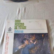 Discos de vinilo: CORO MINERO DE TURON. Lote 206442951