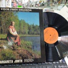 Discos de vinilo: MARGARETA JONTH LP MÚSICA DE SUECIA CARPETA DOBLE 1975. Lote 206443316