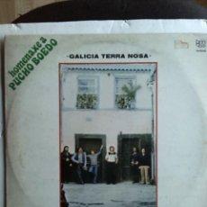 Discos de vinilo: OS TAMARA - GALICIA TERRA NOSA 1980. Lote 206444232