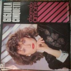 Discos de vinilo: GIGLIOLA CINQUETTI SINGLE SELLO BABI RÉCORD AÑO 1985. Lote 206444411