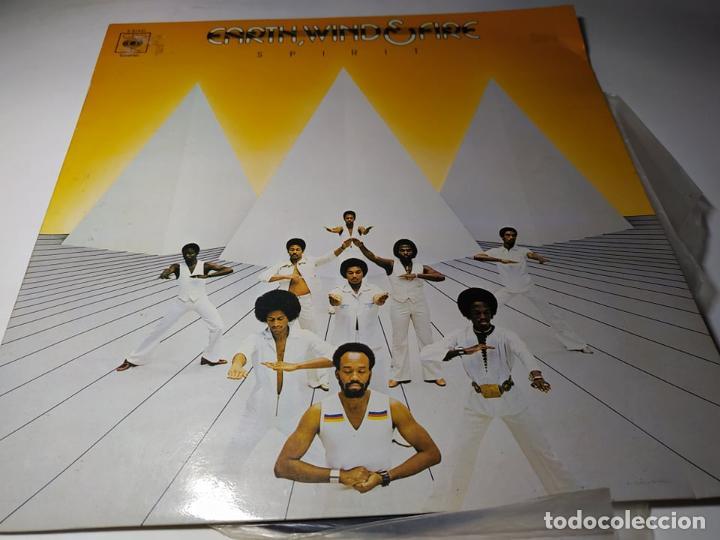 LP - EARTH, WIND & FIRE – SPIRIT - S 81451 ( VG +/ VG ) SPAIN 1976 (Música - Discos - LP Vinilo - Funk, Soul y Black Music)