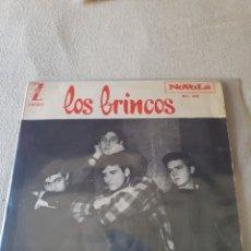 Discos de vinilo: SINGLE LOS BRINCOS. Lote 206447605