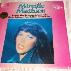 Discos de vinilo: MIREILLE MATHIEU - LP FRANCE ( IMPACT )- VER FOTOS (LEER COMO ECONOMIZAR EN GASTOS DE ENVIO). Lote 206448997