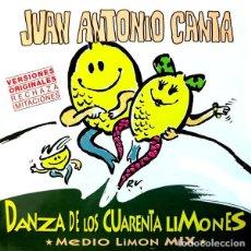 Discos de vinilo: JUAN ANTONIO CANTA / DANZA DE LOS CUARENTA LIMONES, MAXI VIRGIN 1986. Lote 206456366