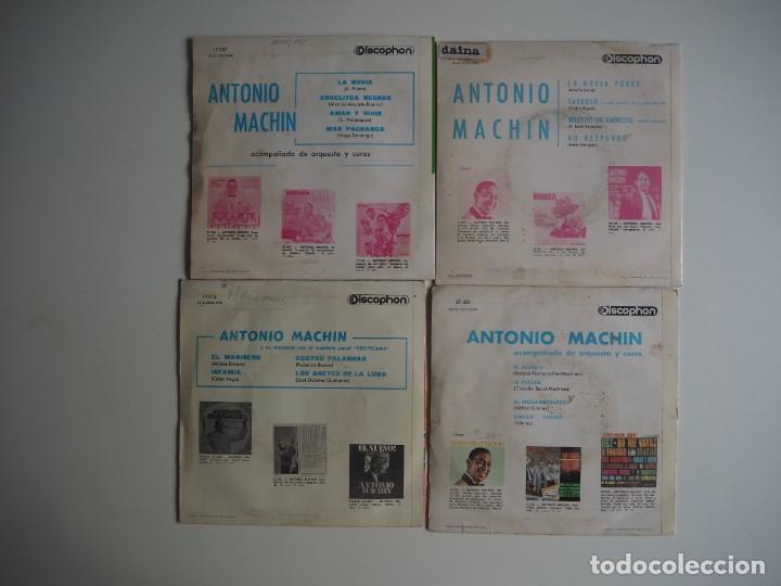 Discos de vinilo: LOTE EPs ANTONIO MACHÍN Discophon - Foto 2 - 206412553